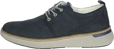 Valleverde 17884 Sneakers Scarpe Uomo in Pelle Blu Casual