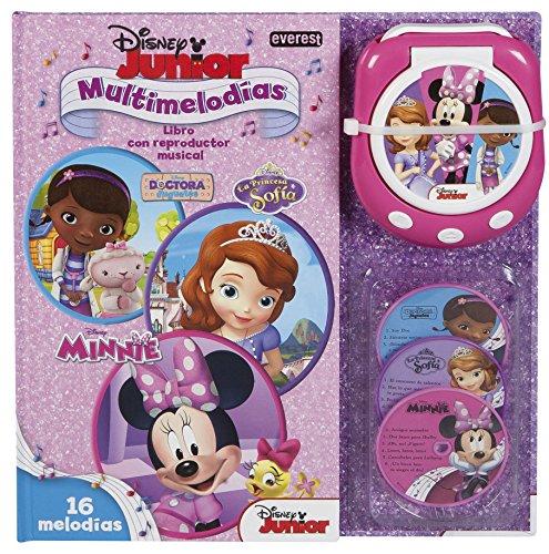Disney - Libro Multimelodías Disney Junior (Libros singulares) por Walt Disney Company