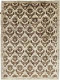 Nain Trading Ziegler Gabbeh 235x181 Orientteppich Teppich Beige/Dunkelbraun Handgeknüpft Afghanistan Design Teppich Modern