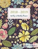 #4: July 2018 - June 2019 Planner: Two Year - 12 Months Daily Weekly Monthly Calendar Planner for Academic Agenda Schedule Organizer Logbook and Journal 3 (Academic Planner 2018-2019 8.5 x 11)