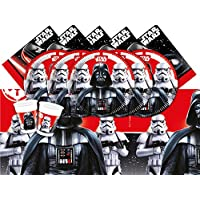 Disney BPWFA-21 Star Wars Party Tableware Set for 24 Person