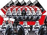 Disney bpwfa-19Star Wars Party Geschirr Set für 8Personen
