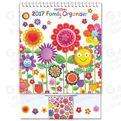 Robert Frederick 2017 Calendario per la famiglia, assortiti.
