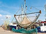 CALVENDO Puzzle Schleppnetz für den Krabbenfang 2000 Teile Lege-Größe 90 x 67 cm Foto-Puzzle Bild von Olaf Friedrich