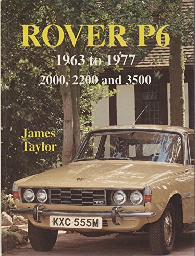 Rover P6 (Marques & models)