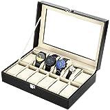 Zogin Boîte porte montres avec compartiments pour garder vos montres en ordre 12 Scompartimenti