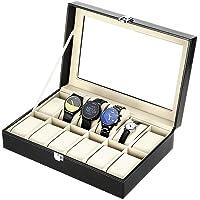 Zogin Scatola Porta Orologi con Scompartimenti per Tenere gli Orologi in Ordine
