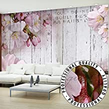 Fotomural 300x210 cm - 3 tres colores a elegir - Papel tejido-no tejido. Fotomurales - Papel pintado flores le?a Juntas b-A-0202-a-b