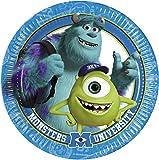 Amscan International Disney Monsters University Paper Plates