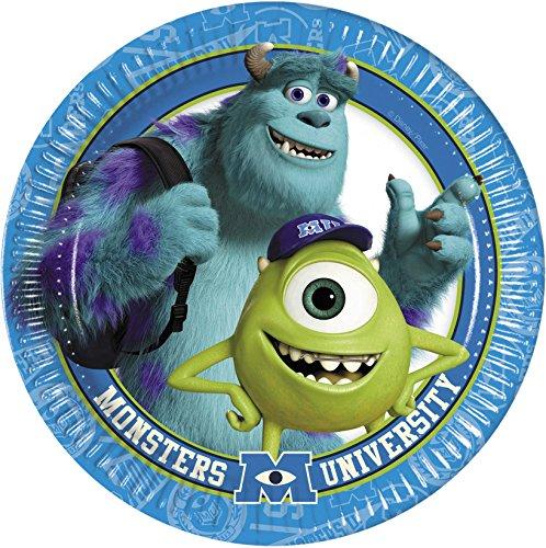 Disney Pappteller lsquo;s Monsters University, von Amscan International