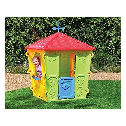 New plast casetta in plastica fun casa gioco per bambini for Casetta giardino bimbi usata