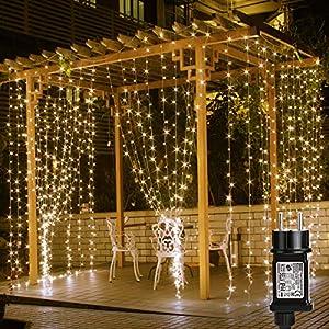 LE Cortina de Luces LED