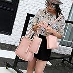Handbag, Shoulder Bags,TUDUZ Women Fashion Casual Four Set tassel Handbag Shoulder Bags Four Pieces Tote Bag Messenger… 17