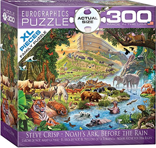 Eurographics 8300-0980 Noah's Ark Before The Rain Puzzle (300 Piezas)