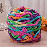 #6: NEW Collection (INTRODUCTORY OFFER) Jo's Knitting/Crochet MULTI MIXED COLOR Anti-Pilling Soft Milk Cotton Yarn (Thick giant Wool Yarn 100g) for Hand knitting and to crochet Beautiful Hat, Scarf,Sweater,Shoes, giant wool blanket and many more…