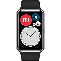 HUAWEI WATCH FIT Smartwatch, Display AMOLED da 1.64, Animazioni Quick-Workout, Durata…