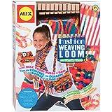 Alex ALX1027 - Set para aprender a tejer (incluye 1 bastidor, 68 m de lana, dos agujas y accesorios) [importado de Reino Unido]
