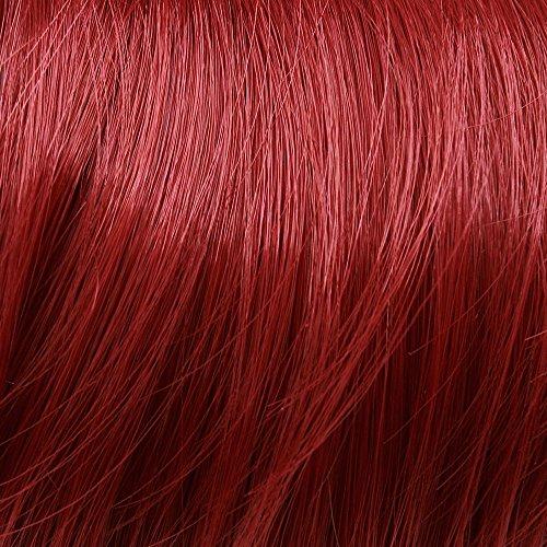 Cosplayland - 60cm glatt Zopf Haarverlängerung Clip-In Haarteil - Rot R02