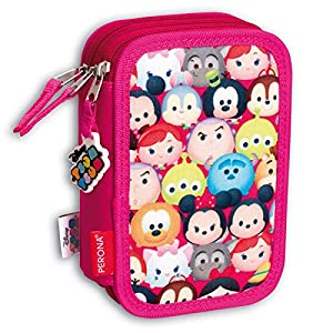 Plumier Tsum Tsum Disney Cotton Triple