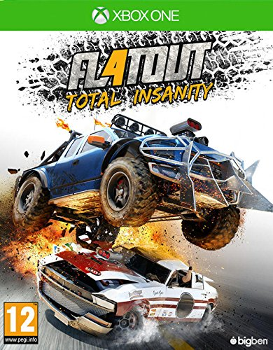Bigben Interactive FlatOut 4: Total Insanity, Xbox One Basic Xbox One English video game - Video Games (Xbox One, Xbox One, Racing, Multiplayer mode, Physical media)