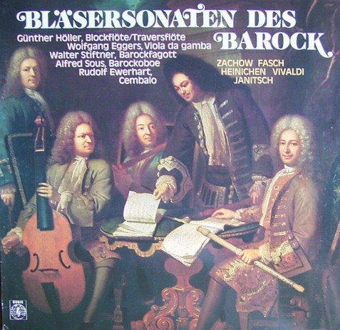 Bläsersonaten des Barock [Vinyl LP] [Schallplatte]
