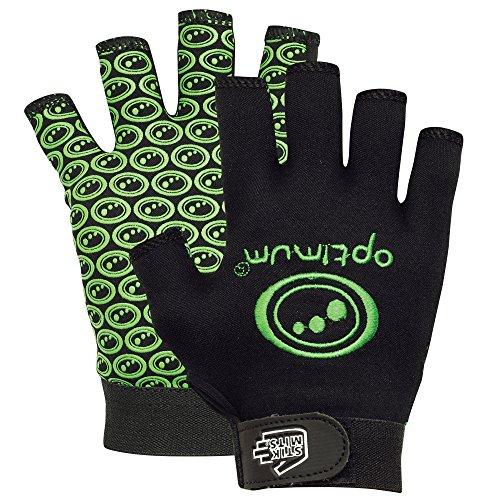 OPTIMUM Stik Mits ? Fingerlose Rugby-Handschuhe M grün - grün Preisvergleich