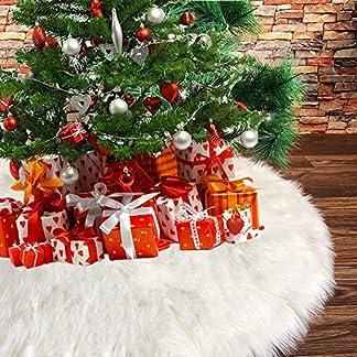 Deggodech-Wei-Plsch-Weihnachtsbaum-Rock-2018-Luxus-Weihnachtsbaumdecke-Gro-Weier-Weihnachtsbaum-Rcke-fr-Weihnachten-Baum-Rock-Deko-Wei-Weihnachtsdekoration