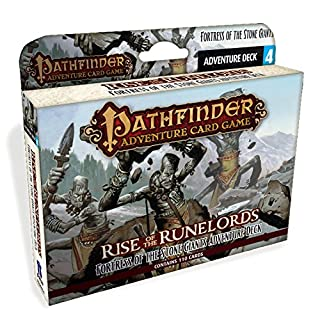 Paizo PAI06004 - Kartenspiele, Pathfinder, Fortress of The Stone Giants Adventure Deck (1601255640) | Amazon price tracker / tracking, Amazon price history charts, Amazon price watches, Amazon price drop alerts