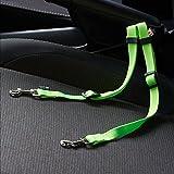 Me & My Pets Doppel-Autositzgurt in Grün, für Hundegeschirr