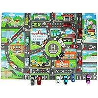 DIY Mapa De Estacionamiento De Automóviles Juguetes Bebé Escalada Esteras De Juego Juguetes para Niños Parqueo De La Ciudad Mapa De Ruta Mapa