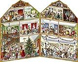 Coppenrath Adventskalender 'Christmas at The Mansion' Großer ausklappbarer Traditionelle