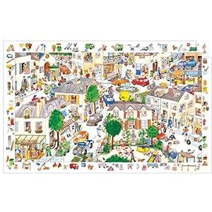 Djeco - Puzzle observation 100 Pièces - La ville
