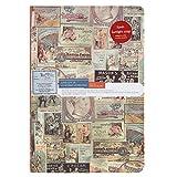 Cahier Notebook en Carton Agenda à thème d'Illustration en couleur Bloc-note en mode Rétro Carnet de Voyage Calepin Journal pour remontrer Mémoire et garder Souvenir