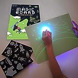 iLight – Planche à Dessin Magique pour Enfants avec Lumière Réelle (Format A4) – Jeu de Peinture pour Garçons et Filles de 3