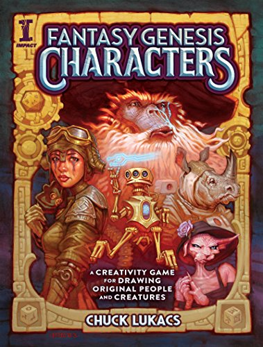 Fantasy Genesis Characters: A creativity game for drawing original people and creatures por Chuck Lukacs