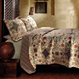 Greenland Home Esprit Spice Quilt set, Twin