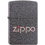Zippo Briquet #211 Snakeskin Zippo Logo
