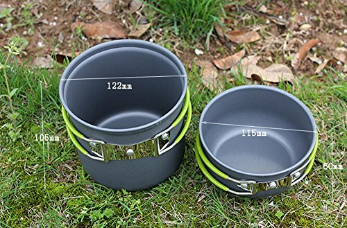 Lixada 3 Piece Cutlery Set Titanium Outdoor Camping Picnic Hiking Cooking B9E3