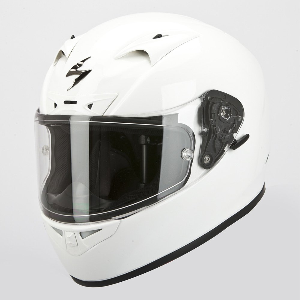 Scorpion Casco Moto Exo-710 Air Solid, Bianco, XL