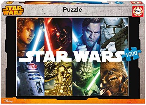 Educa 16312 - 1500 Star Wars, Puzzle