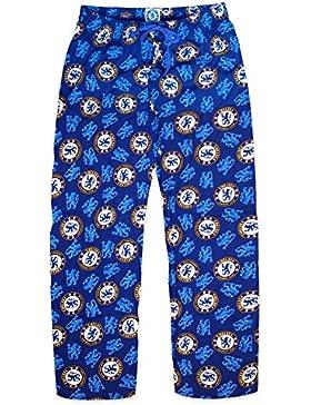 Chelsea FC - Pantalones de pijama oficiales - Para hombre