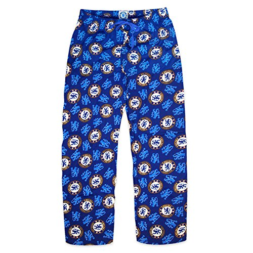 Chelsea F.C. Chelsea FC Official Football Gift Mens Lounge Pants Pyjama Bottoms Navy XL