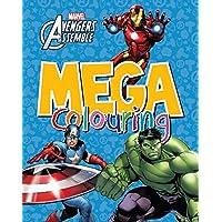 Marvel Avengers Assemble Mega Colouring