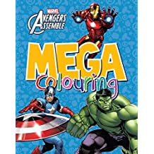 Marvel Avengers Assemble Mega Colouring