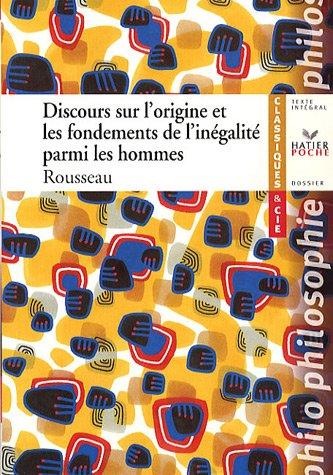 Discours sur l'origine et les fondements de l'inégalité entre les hommes