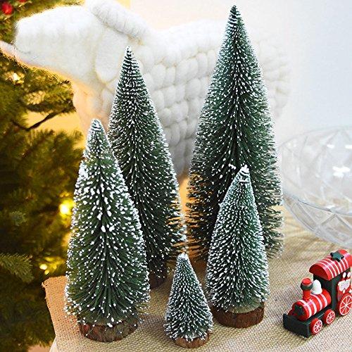 Global Brands Online DIY Mini áRbol de Navidad Pequeã±o áRbol de Pino colocado en el Escritorio Decoraciã³n del hogar Decoraciã³n de Navidad