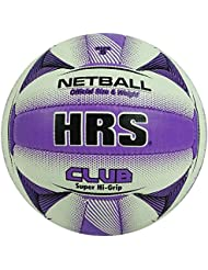 HRS Club 18 Panel Super High Grip en caoutchouc synthŽtique Taille 5 Netball