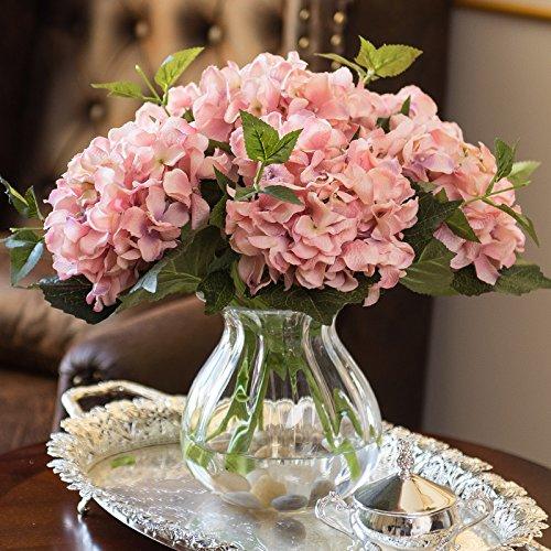 ZHUDJ Danzhi Kalifornien Gerichte Künstliche Blumen Künstliche Blumen Seidenblumen Wohnzimmer Ist Blumen Silk Flower Arrangement Anstecker Fleisch Pulver (A) (Kalifornien Gericht)