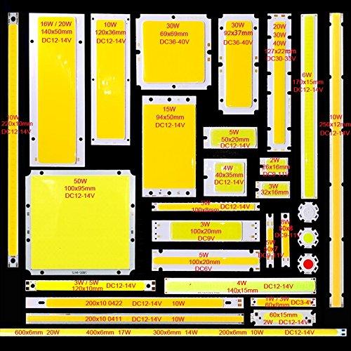 Preisvergleich Produktbild SumBulbs COB LED-Licht DC bunte LED-Leuchtmittel Chip On Board COB Streifen DIY Lampe Lichtquelle