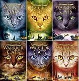 Warrior Cats Staffel III Die Macht der Drei Band 1 - 6 im Set in gebundener Ausgabe (1. Der geheime Blick + 2. Fluss der Finsternis + 3. Verbannt + 4. Zeit der Dunkelheit + 5. Lange Schatten + 6. Sonnenaufgang)